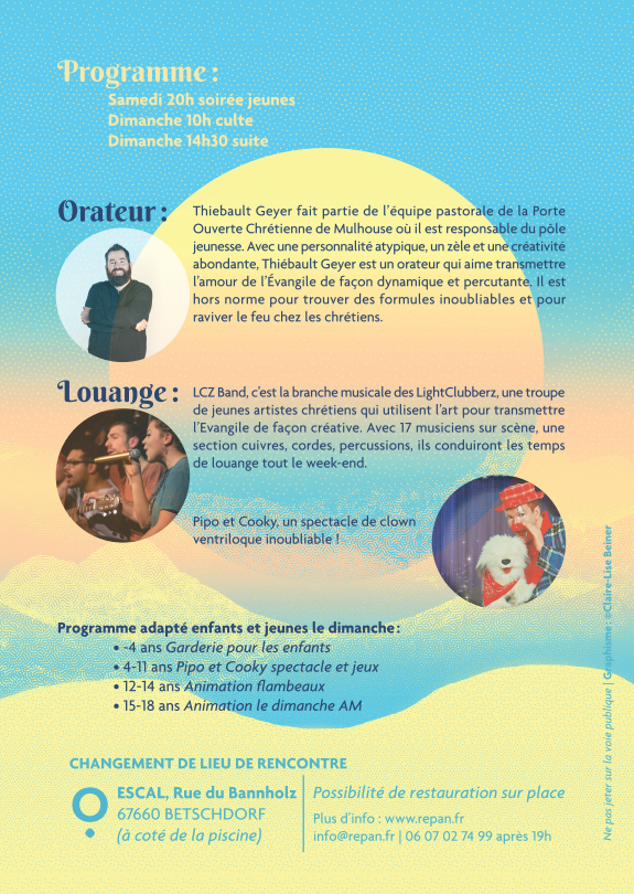 Flyer Pentecôte Betschdorf 2019 verso